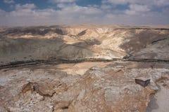 negev ландшафта Израиля пустыни Стоковые Фото