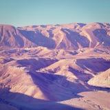 Negev Deser royaltyfria foton