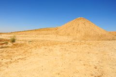 Negev Desert. Sand Hill In The Negev Desert, Israel Stock Image