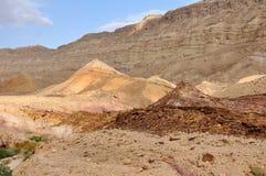 Negev Desert. A desert scene, Negev, Israel Royalty Free Stock Photo