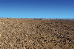 Negev Desert in Israel. Stock Photography