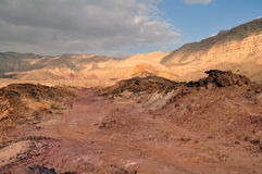 The Negev desert (Israel) Stock Images