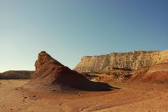 Negev desert, Israel. Royalty Free Stock Images