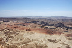 Negev desert, Israel. Royalty Free Stock Image