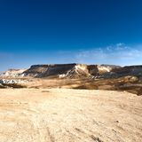 Negev Desert in Israel royalty free stock photography