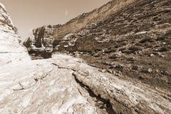 Negev Desert in Israel Royalty Free Stock Images
