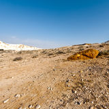 Negev Desert in Israel Stock Photo