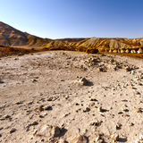 Negev Desert in Israel Royalty Free Stock Photos