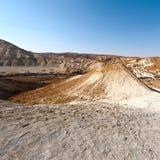 Negev Desert in Israel Royalty Free Stock Image