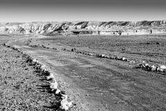 Negev Desert in Israel Stock Image