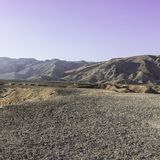 Negev Desert in Israel. Rocky hills of the Negev Desert in Israel. Breathtaking landscape of the rock formations in the Southern Israel. Dusty mountains Royalty Free Stock Photography