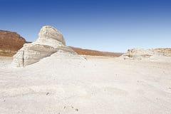 Negev Desert in Israel. Royalty Free Stock Photo