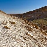 Negev Desert in Israel. Royalty Free Stock Photos