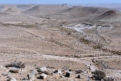 Negev Desert landsacpe Royalty Free Stock Photos