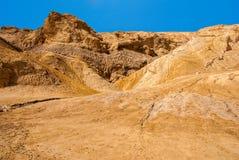Negev desert landscape near the Dead Sea. Royalty Free Stock Image