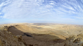 Negev desert landscape. Stock Photography