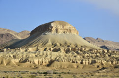 Negev desert landscape. Stock Images