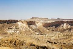 Negev desert landscape Stock Photo