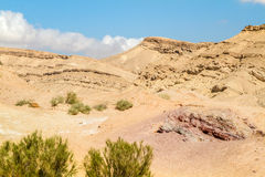 The Negev Desert Stock Image