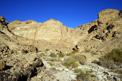 Negev desert and mountain Stock Photography