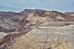 Negev Desert Royalty Free Stock Photo