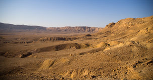 Negev desert travel Royalty Free Stock Photos