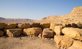Negev desert travel Stock Photos