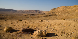 Negev desert travel Royalty Free Stock Photography