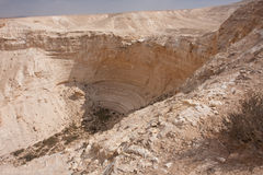 negev för ökenisrael liggande Arkivbilder