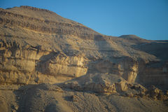Negev mountains cliff Stock Photography