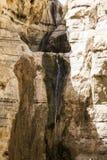Negev vattenfall arkivbilder