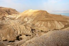 Negevwoestijn - Israël Royalty-vrije Stock Afbeeldingen