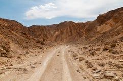 Negevwoestijn Israël stock afbeelding