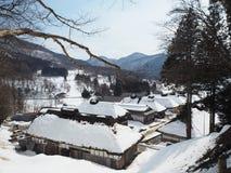 Negi Soba, ouchi-juku-fukushima, prato do famouse da cidade do ouchi-juku - imagem foto de stock royalty free
