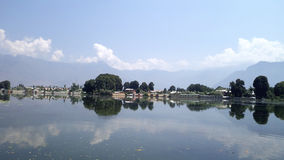 Negin lake in kashmir Stock Image