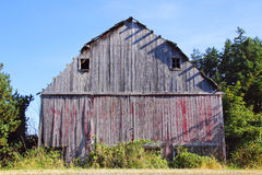 Neglected and Abandoned Barn Royalty Free Stock Images