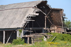 Neglected barn Royalty Free Stock Photography