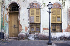 Neglected Brazilian Colonial Architecture Stock Photos