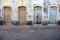 Neglected Brazilian Colonial Architecture Stock Images