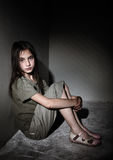 Neglected child Stock Images