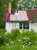 Neglected country house Stock Photo