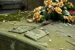 Neglected grave Stock Photography