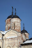 Neglected orthodox church in Kirillov, Russia Royalty Free Stock Photography