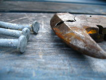 Neglected Tools Stock Photography