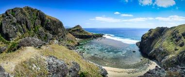 Negligência da ilha de Sabtang fotos de stock