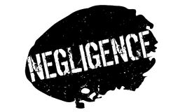 Negligence rubber stamp Stock Photos