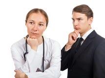 Negligencia médica fotos de archivo libres de regalías