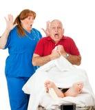 Negligencia médica Imágenes de archivo libres de regalías