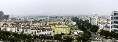 Negligenciando a cidade de Rizhao imagem de stock