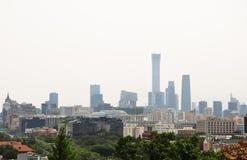 Negligenciando a cidade do Pequim foto de stock royalty free